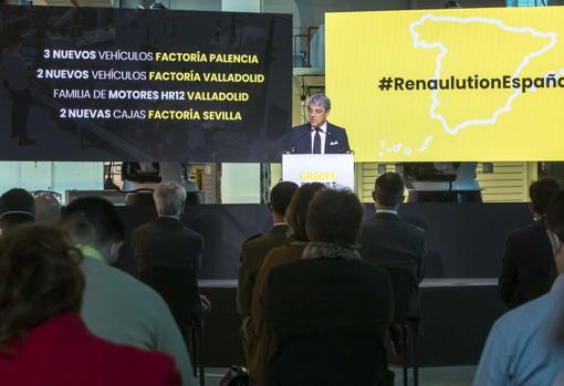 Luca de Meo, CEO of Renault