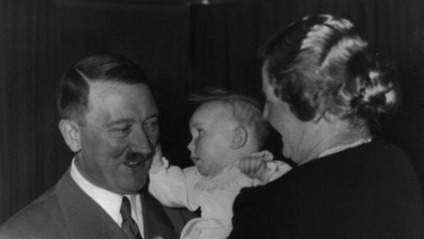 Imagen del archivo personal de la esposa de Hitler
