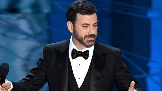 Jimmy Kimmel, durante la gala de los Oscar