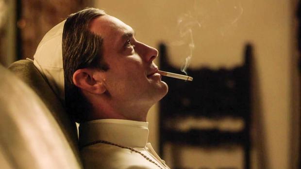 Jude Law, en el papel de Pio XIII