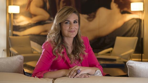La presentadora, directora y colaboradora, Carlota Corredera, posa para ABC