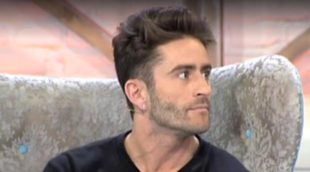 Pelayo Díaz, durante la emisión de «Cámbiame»
