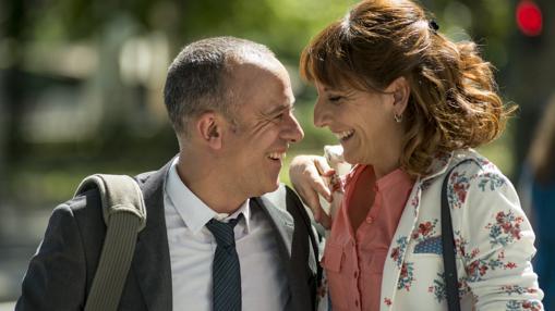 Javier Gutiérrez y Malena Alterio, dos de las protagonistas de «Vergüenza»