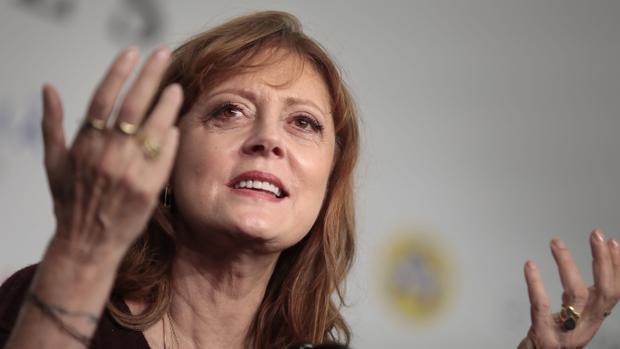 Susan Sarandon atiende a los medios en el Festival de Cine Fantástico de Sitges