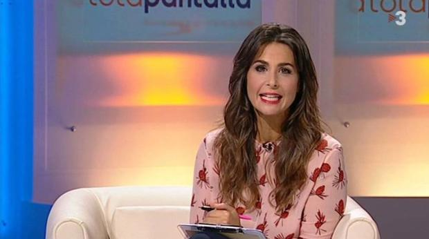 Nuria Roca en el programa «A tota pantalla»