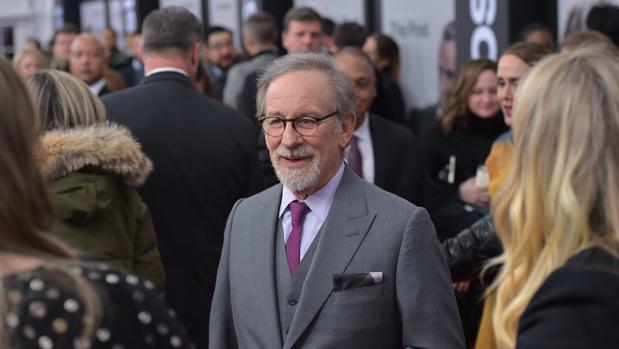 Steven Spielberg, en la premiere de «The Post»