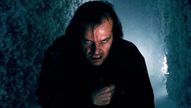 Jack Nicholson en «El Resplandor»