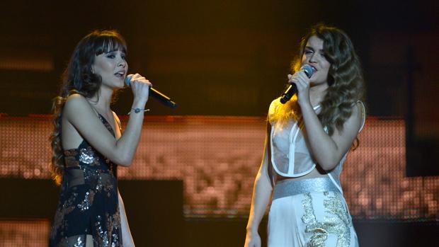 Aitana y Amaia, en OT 2017
