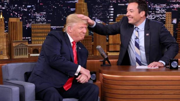 El polémico momento entre Trump y Fallon