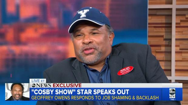 Geoffrey Owens en el programa «Good Morning America»
