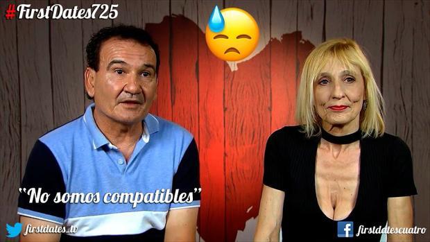 Miguel y Begoña, en «First Dates»