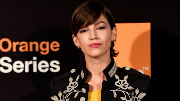 Úrsula Corberó, en la presentación de la segunda temporada de «Snatch»