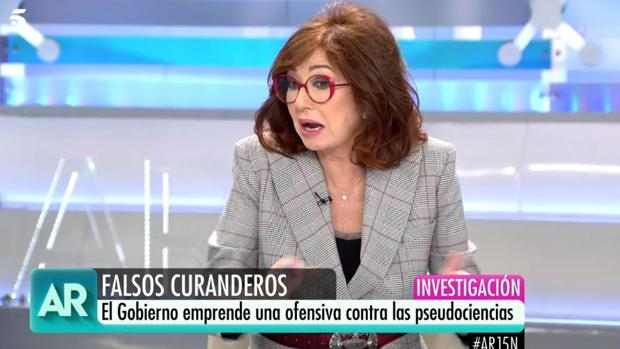 Ana Rosa Quintana, presentadora de «El programa de Ana Rosa»