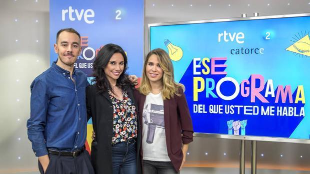 Alberto Casado, Marta Flich y María Gómez