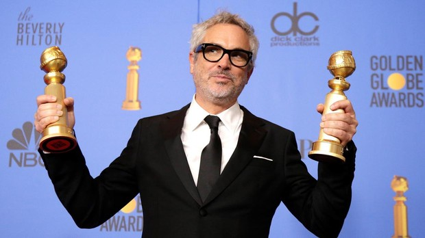Alfonso Cuarón en los Globos de Oro