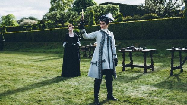 Rachel Weisz, en una escena de La favorita, donde interpreta a Lady Sarah