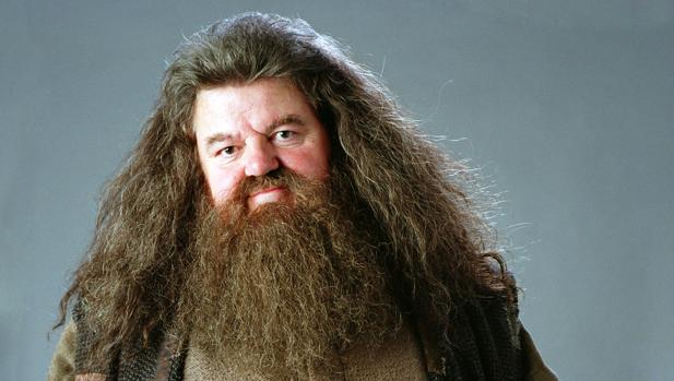 Robbie Coltrane es Hagrid en Harry Potter