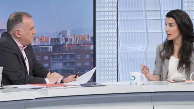 La entrevista de Xabier Fortes a Rocío Monasterio (Vox) en TVE