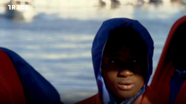 Momento del último episodio de «Misioneros por el mundo»