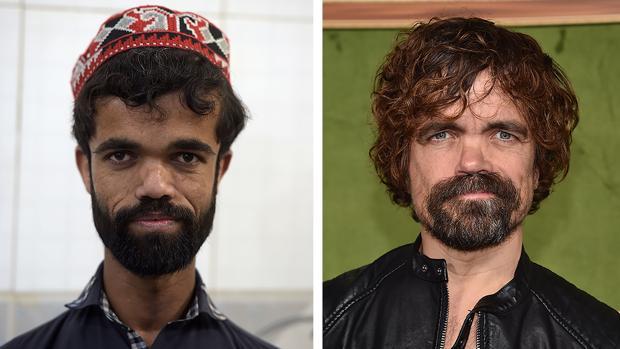 Rozi Khan y Peter Dinklage, que interpreta a Tyrion Lannister en «Juego de Tronos»