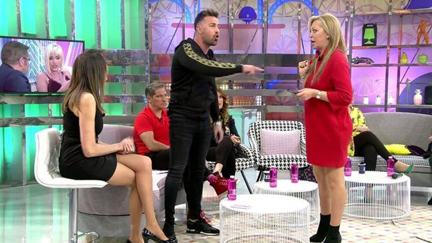 Belén Esteban și Rafa Mora discută în