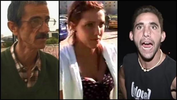 Ramón «el Vanidoso», la chica «de la mancha en el pelo» y el Ogro de las Drogas, en «Callejeros»