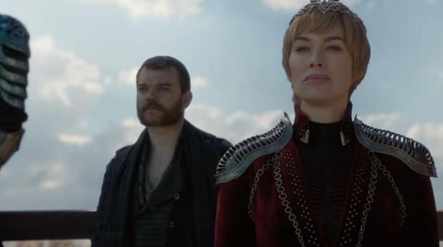 Cersei Lannister y Euron Greyjoy en el tráiler de Juego de Tronos 8x04