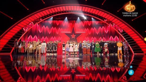 Los finalistas de la cuarta edición de «Got Talent»