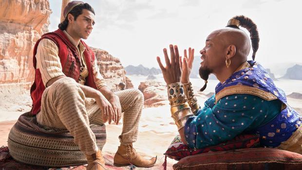 Aladdin ha sido la película más vista durante la Fiesta del cine