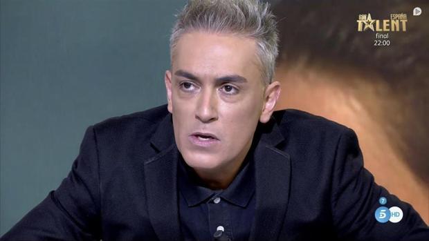 Kiko Hernández, colaborador de «Sálvame»