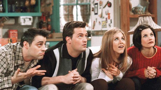 El elenco de «Friends»