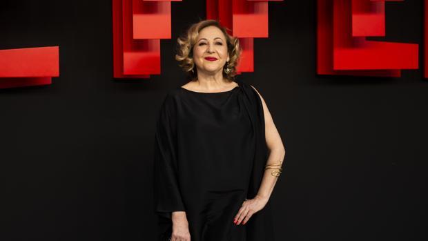 Carmen Machi, en una fotografía del pasado mes de abril