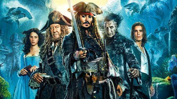 Piratas del Caribe: la venganza de Salazar, uno de los títulos que abandona la plataforma de streaming