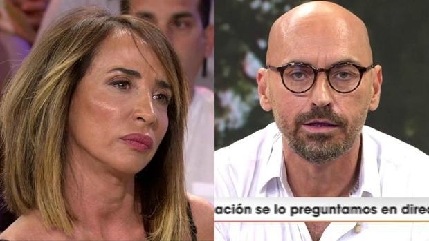 María Patiño, en «Sábado deluxe», respondiendo al ataque de Diego Arrabal emitido en «Viva la vida»