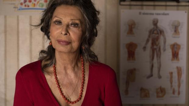 Sofía Loren, fotografiada por Regine de Lazzaris en «Variety»