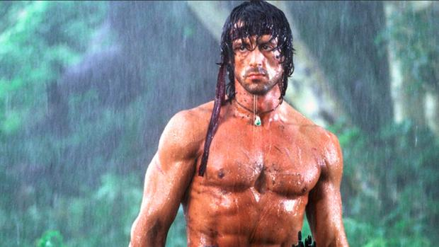 Stallone en Rambo