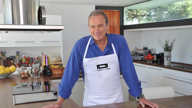 Bertín Osborne, presentador de «Mi casa es la tuya»