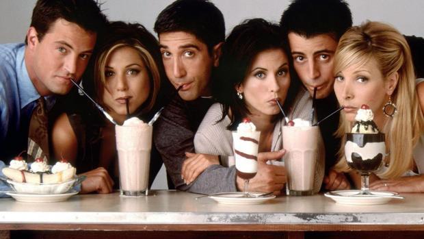 El elenco de Friends, en una imagen de archivo