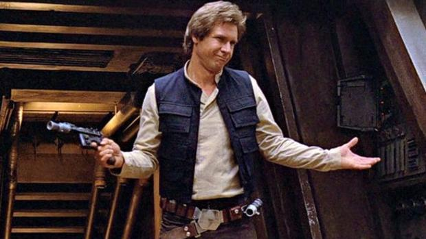 El personaje de Harrison Ford fue suprimido en el montaje de «E.T»