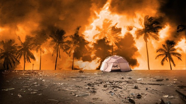 Imagen del documental «Fyre Fraud, el festival fraude»