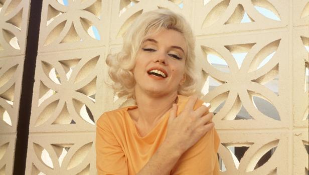 Marilyn Monroe ,en unaimagen de archivo