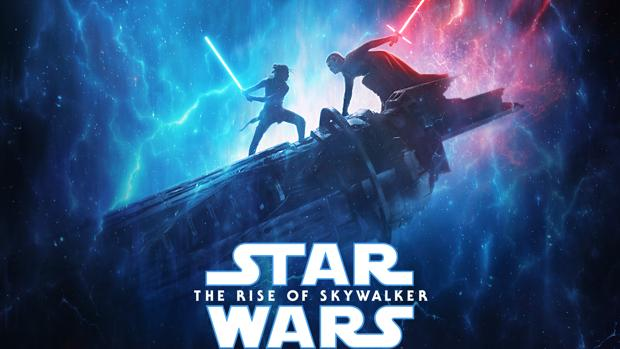 Imagen oficial de la película «Star wars: the raise of Skywalker»