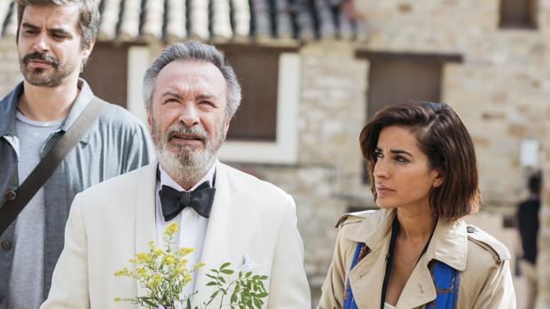 Óscar Martínez e Inma Cuesta en «Vivir dos veces»