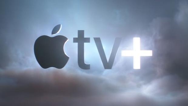 Logo de Apple TV Plus