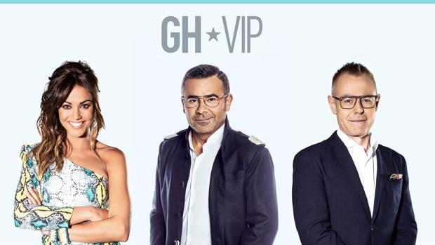 El trío de presentadores de GH VIP