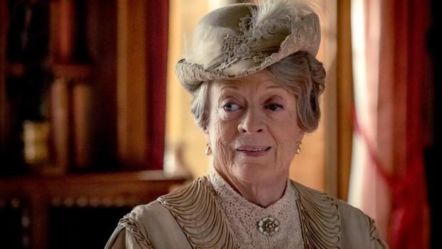 Imagen de Maggie Smith en «Downton Abbey»