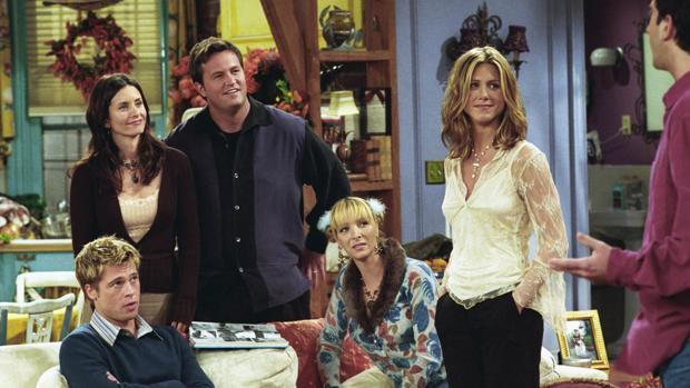 Brad Pitt fue uno de los artistas invitados que pasaron por el piso de Rachel y Monica
