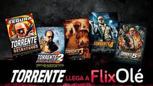 Flixole Reune La Saga Torrente Al Completo