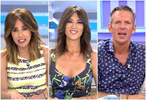Ana Terradillos, Patricia Pardo y Joaquín Prat presentan «El programa del verano» en Telecinco