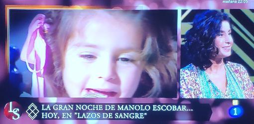 Vanessa García, de niña y en la actualidad